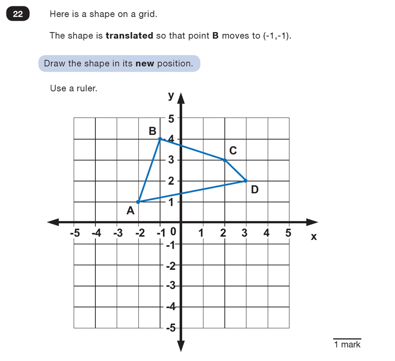Question 22 Maths KS2 SATs Test Paper 2 - Reasoning Part B