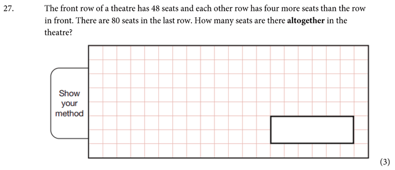 St Albans School - 11 Plus Maths Entrance Exam Paper 2019 Question 28, Numbers, Addition, Word Problems, Logical Problems
