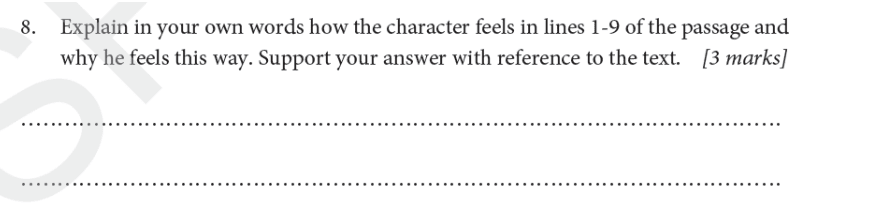 St Albans School - 11 Plus English Entrance Exam Paper 2019 Question 08