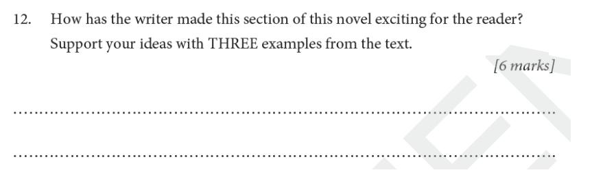 St Albans School - 11 Plus English Entrance Exam Paper 2019 Question 12