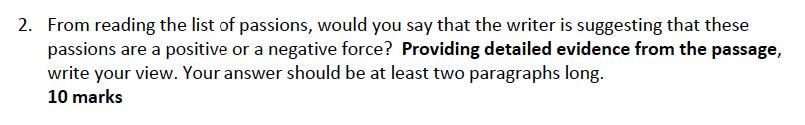 Kent College - 13 Plus English Sample Paper Question 02