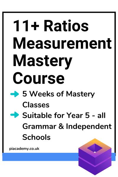 11 Plus Online School - Ratios, Measurement, Sequences Crash Course