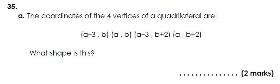 Bancroft's School - 11 Plus Maths Sample Paper 2021 entry Question 44