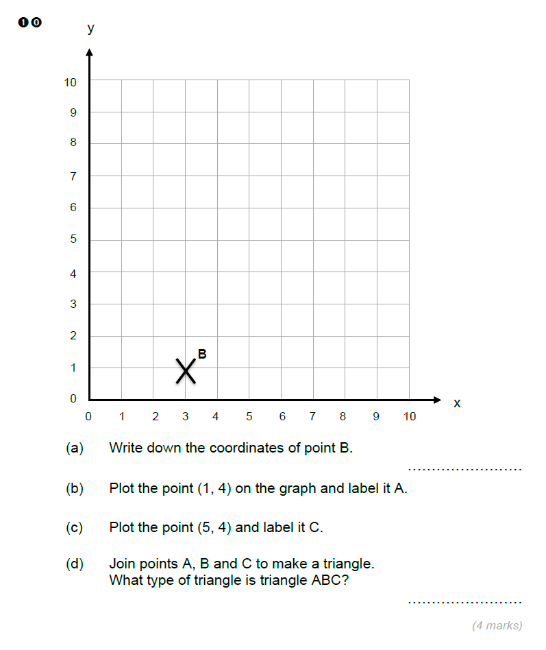 Brentwood school - 11 Plus Maths Sample Paper Question 10