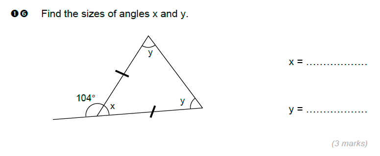 Brentwood school - 11 Plus Maths Sample Paper Question 16