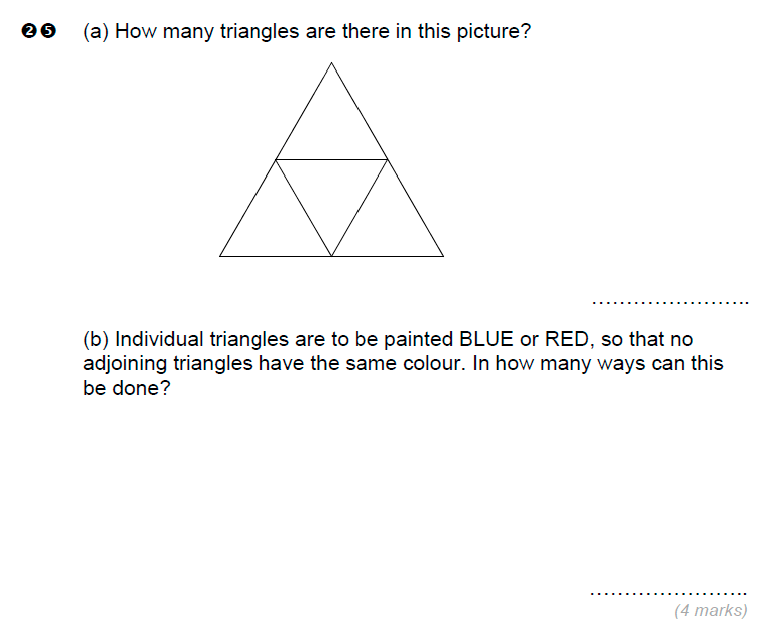 Brentwood school - 11 Plus Maths Sample Paper Question 25