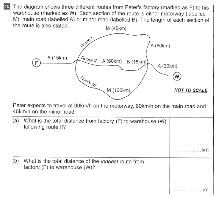 CSSE Maths 2016 Entry Question 15
