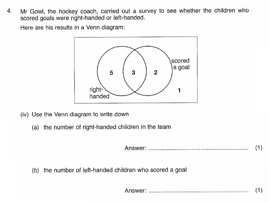 ISEB 11 Plus Maths 2008 Practice Paper Question 08