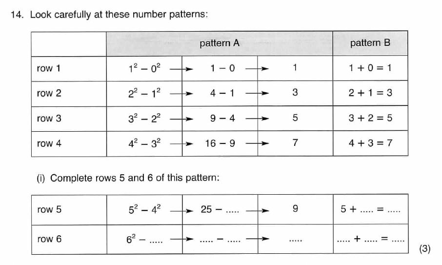 ISEB 11 Plus Maths 2008 Practice Paper Question 30