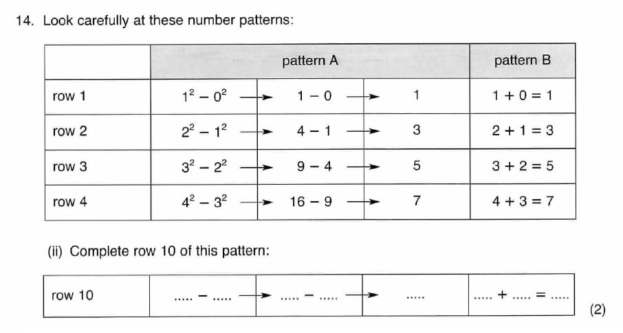 ISEB 11 Plus Maths 2008 Practice Paper Question 31