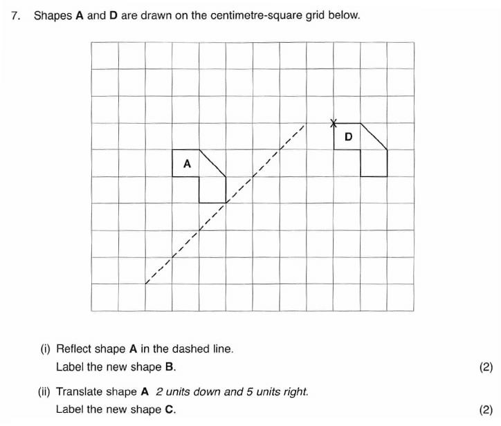 ISEB 11 Plus Maths 2009-10 Practice Paper Question 11