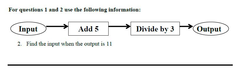 Queens' School - Maths Familiarisation Paper Question 02