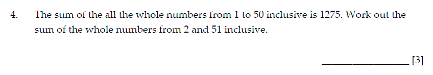 Sevenoaks School Year 7 Sample Paper 2015 Question 04