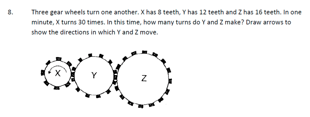 Whitgift School Maths Entrance Exam Sample Questions Question 29