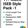 11+ Maths ISEB Practice Papers Pack 1