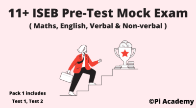 11 Plus ISEB Pre-Test Mock Exam Pack Product