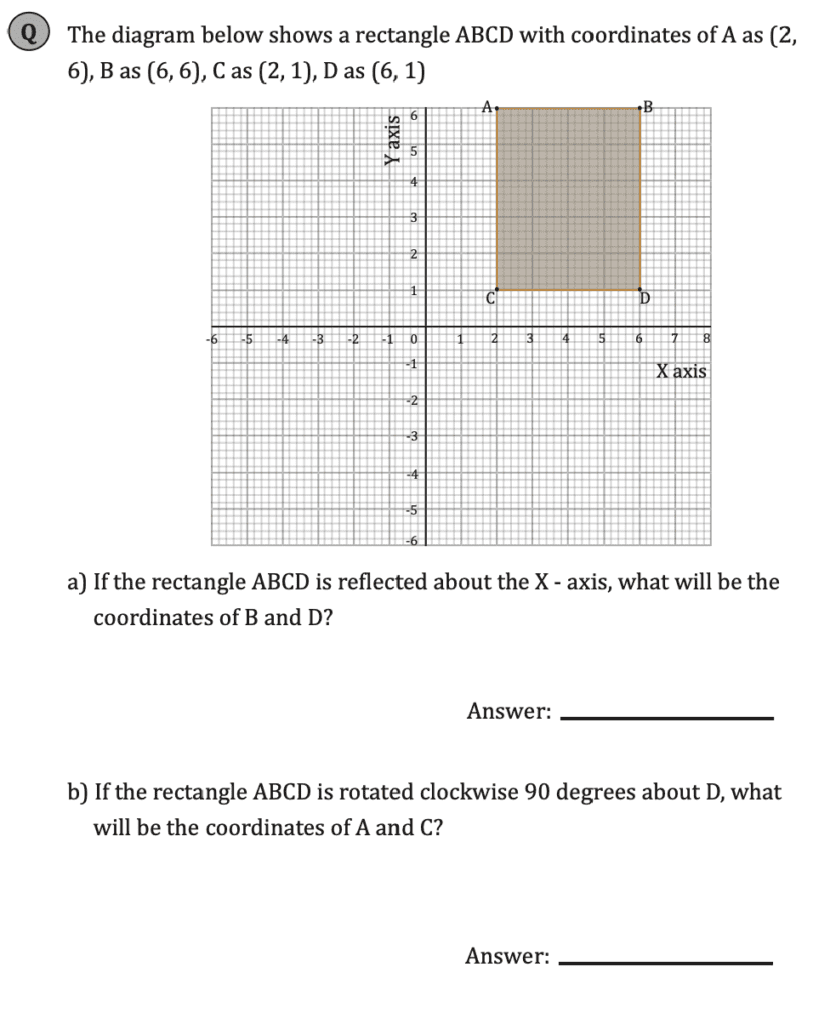 11+ Maths Challenging- Geometry - Practise Question 039 - B