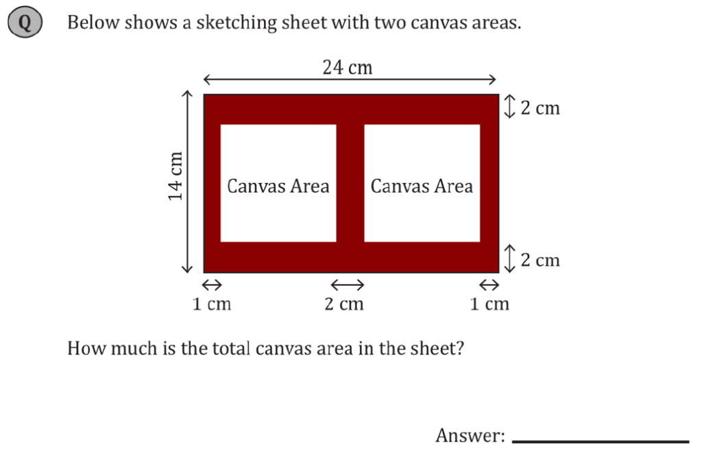 11+ Maths Challenging - Measurements - Practise Question 075 - B