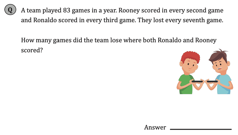 11+ Maths Challenging- Numbers - Practise Question 066 - A