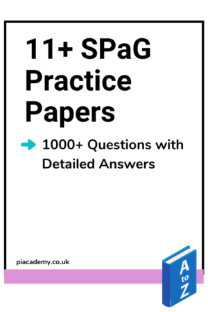 11 Plus SPaG Practice Papers Product page