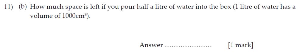 Sevenoaks School Year 7 Sample Paper 2013 Question 14