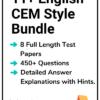 11+ English CEM Practice Papers Bundle