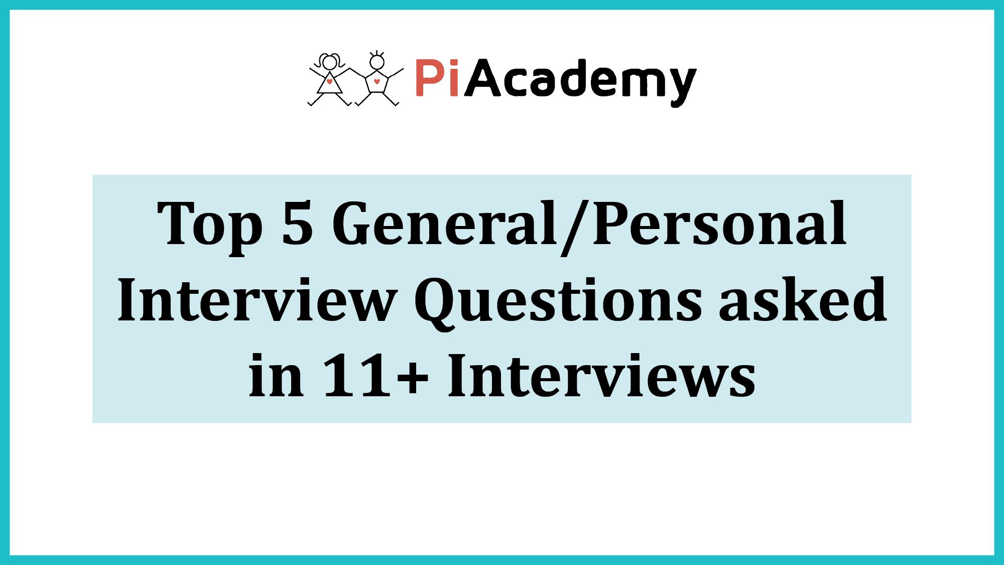 11 Plus Interview Preparation Guidance
