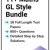 11+ Maths GL Practice Papers Bundle