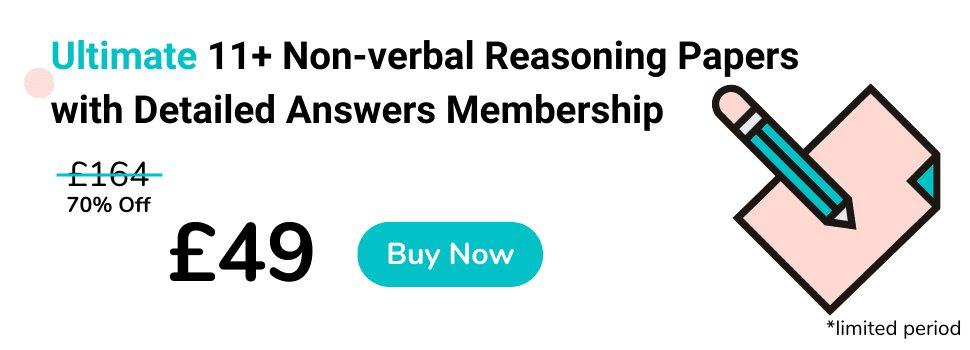 11 Plus Non-verbal Reasoning Practice Papers with Detailed Answers