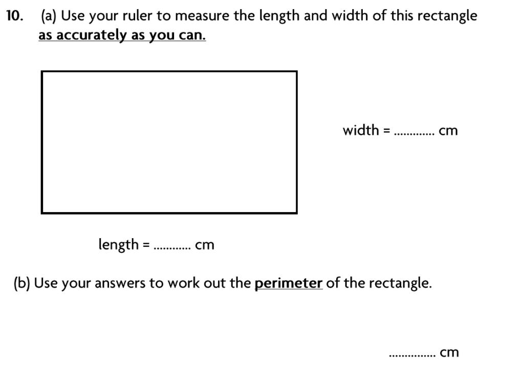Blackheath High School Year 7 Practice Paper 2007 - Question 12