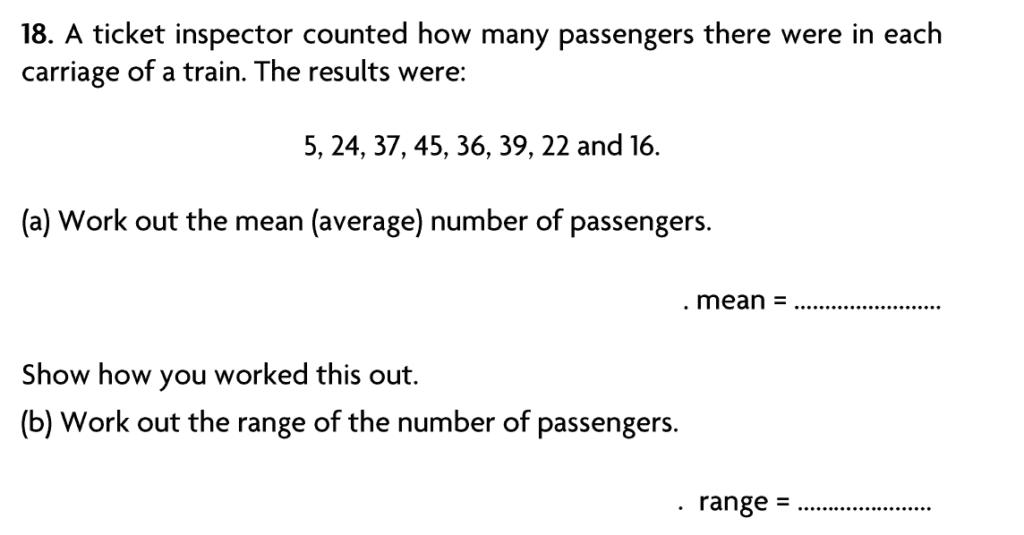 Blackheath High School Year 7 Practice Paper 2007 - Question 23