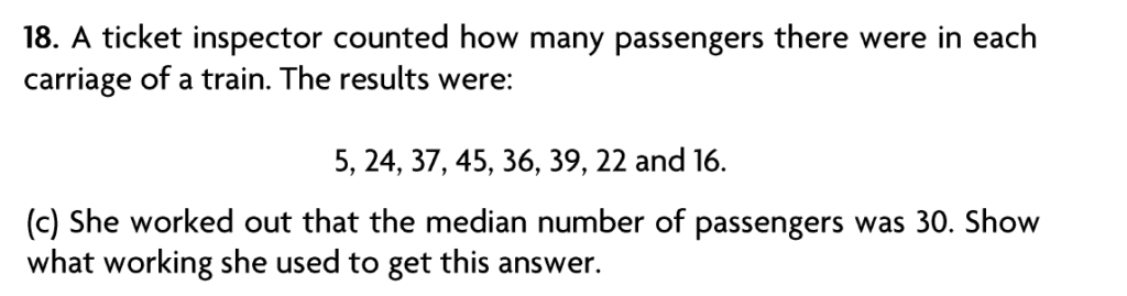 Blackheath High School Year 7 Practice Paper 2007 - Question 24