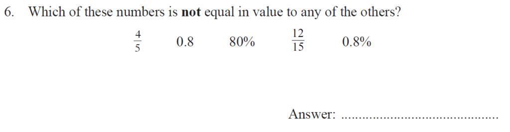 Group 1 Maths 2017 - Question 06