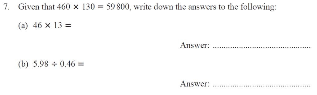 Group 1 Maths 2017 - Question 07
