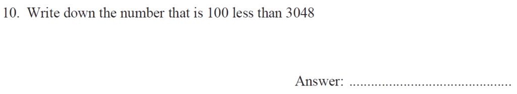 Group 1 Maths 2017 - Question 10