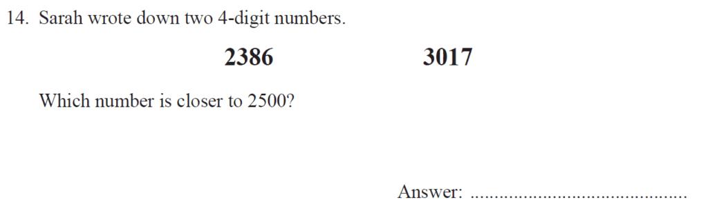 Group 1 Maths 2017 - Question 14