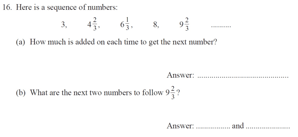 Group 1 Maths 2017 - Question 16