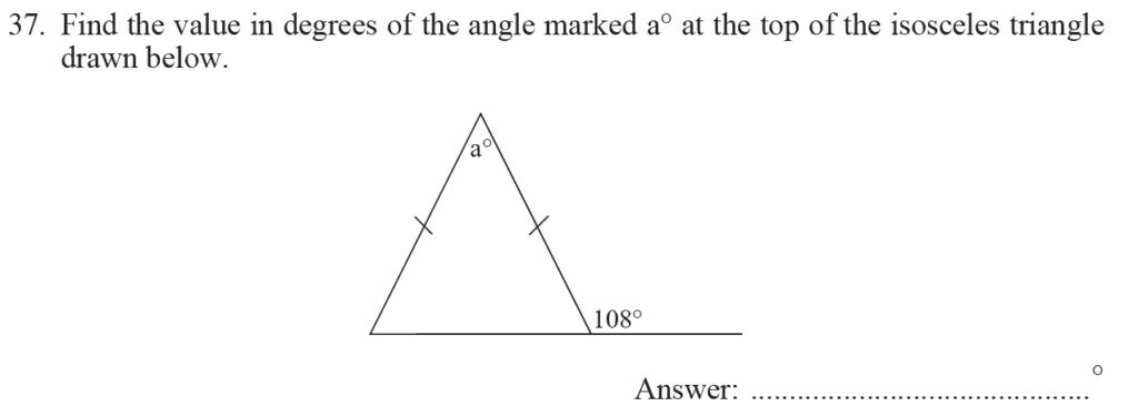 Group 1 Maths 2017 - Question 40