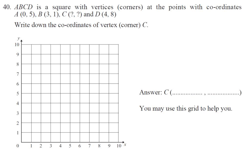 Group 1 Maths 2017 - Question 43