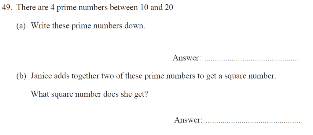 Group 1 Maths 2017 - Question 59