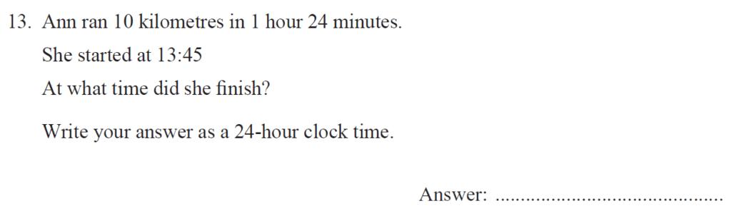 Group 2 Maths 2017 - Question 13