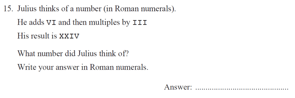 Group 2 Maths 2017 - Question 15