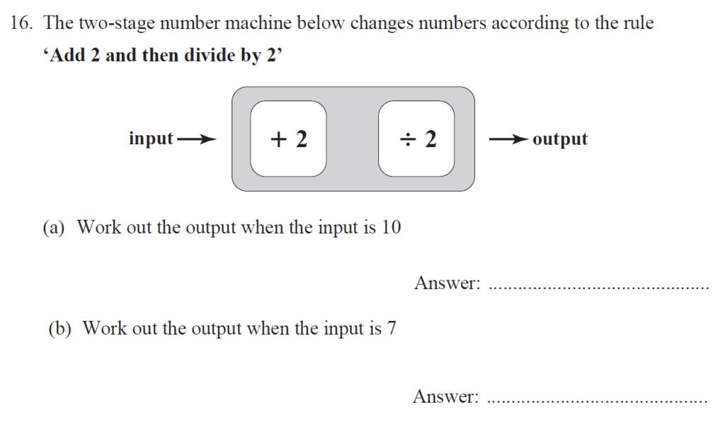 Group 2 Maths 2017 - Question 16