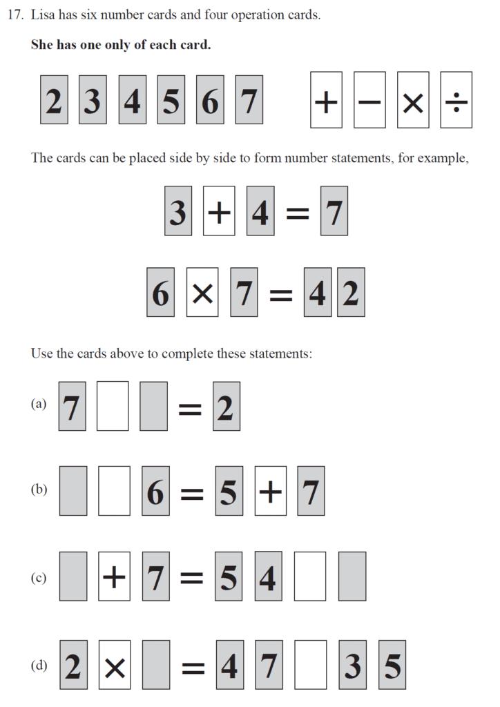 Group 2 Maths 2017 - Question 18