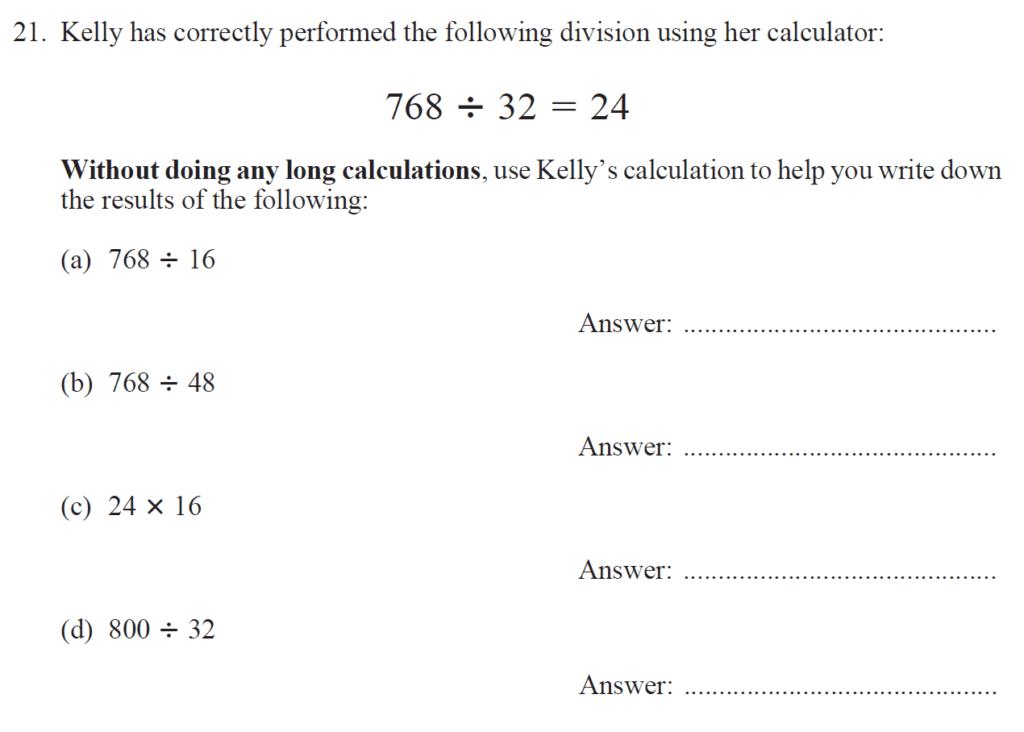 Group 2 Maths 2017 - Question 23