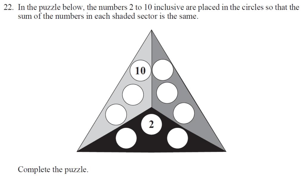 Group 2 Maths 2017 - Question 24