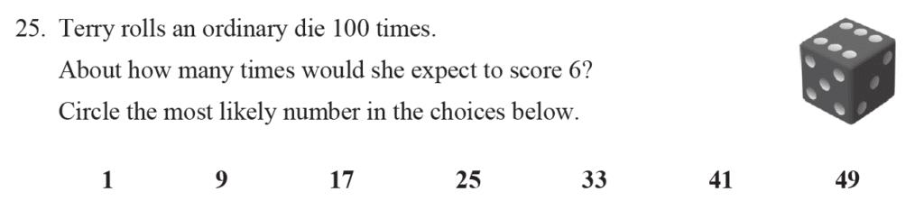Group 2 Maths 2017 - Question 27