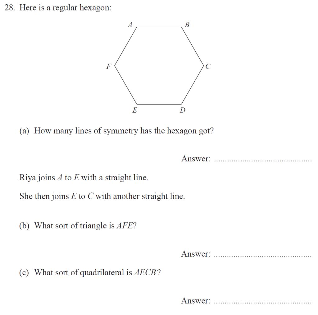 Group 2 Maths 2017 - Question 30