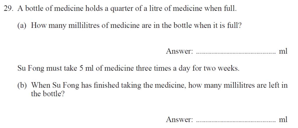 Group 2 Maths 2017 - Question 31