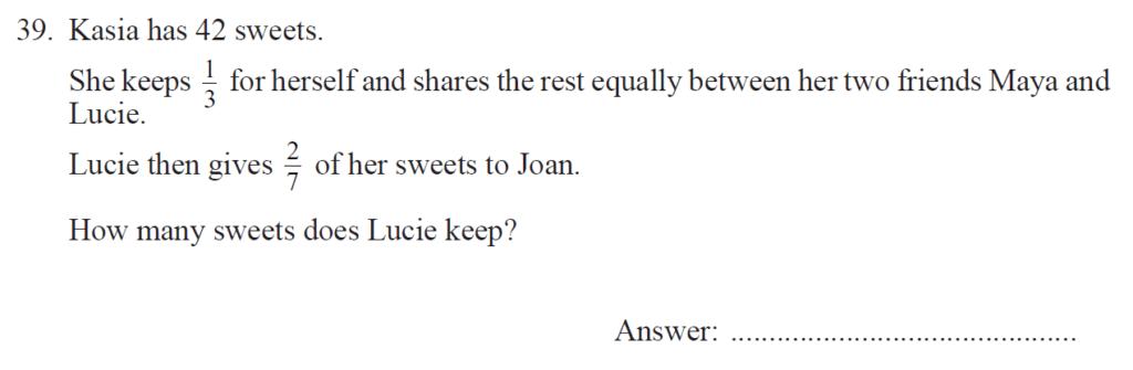 Group 2 Maths 2017 - Question 45